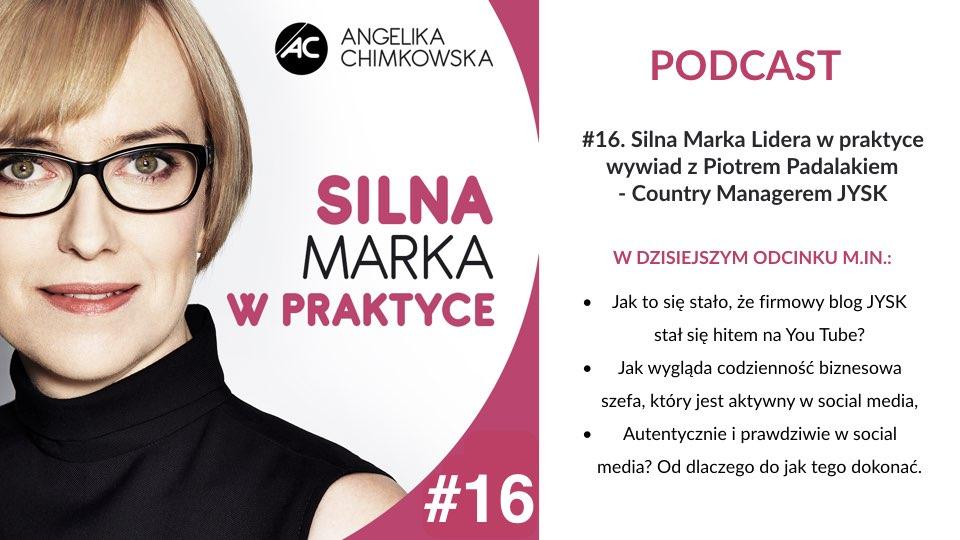 Podcast Silna marka w Praktyce 16