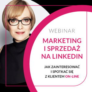 Webinar Marketing I Sprzedaż na LinkedIn