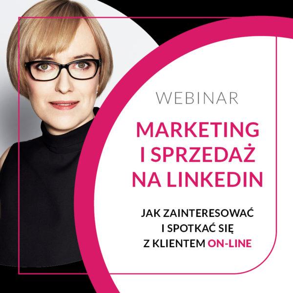 Webinar Marketing I Sprzedaż na LinkedIn